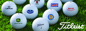 Customize Golf Balls for your Company or Club.